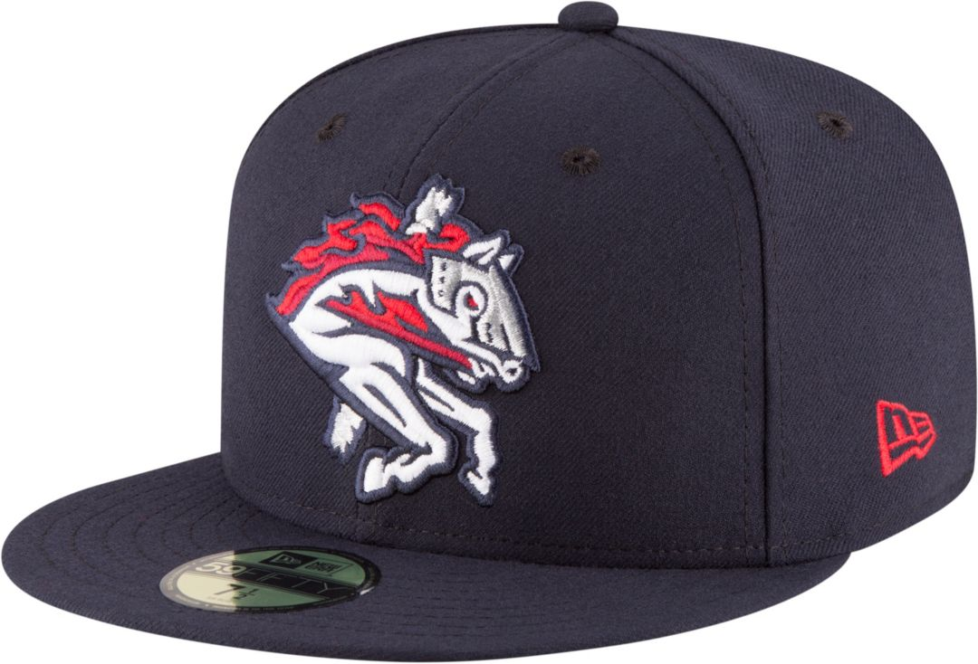 check out c941e 6e3aa New Era Men s Binghamton Rumble Ponies 59Fifty Navy Authentic Hat.  noImageFound. Previous