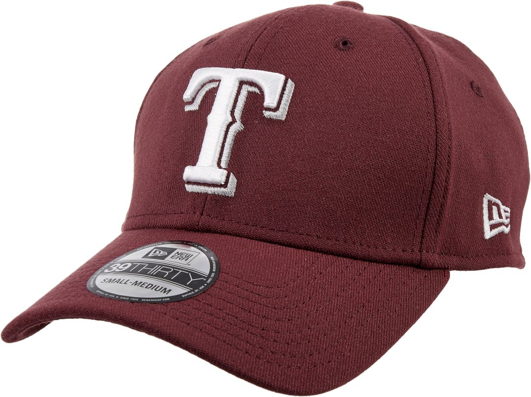 finest selection 8d831 622d8 New Era Men s Texas Rangers 39Thirty City Pride Maroon Stretch Fit Hat 1