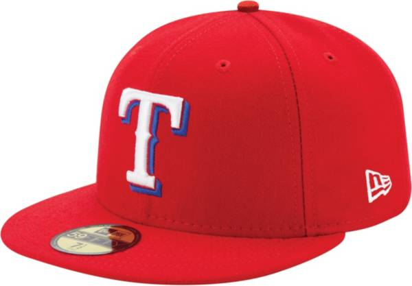 New Era Men's Texas Rangers 59Fifty Alternate Red Authentic Hat product image