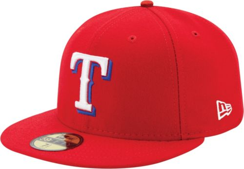 0a44359a003c5 New Era Men s Texas Rangers 59Fifty Alternate Red Authentic Hat.  noImageFound. Previous