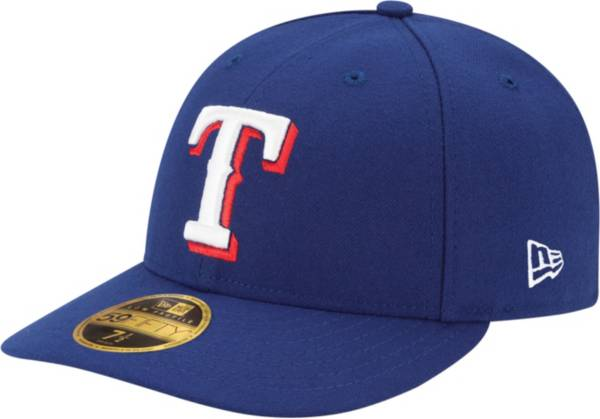 New Era Men's Texas Rangers 59Fifty Game Royal Low Crown Authentic Hat product image