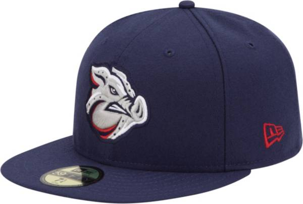New Era Men's Lehigh Valley IronPigs 59Fifty Navy Authentic Hat product image