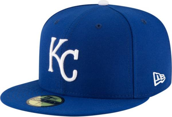 New Era Men's Kansas City Royals 59Fifty Game Royal Authentic Hat product image