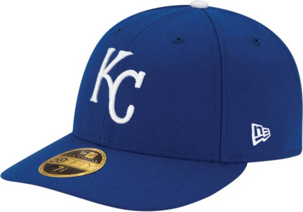 New Era Men's Kansas City Royals 59Fifty Game Royal Low Crown Authentic Hat product image