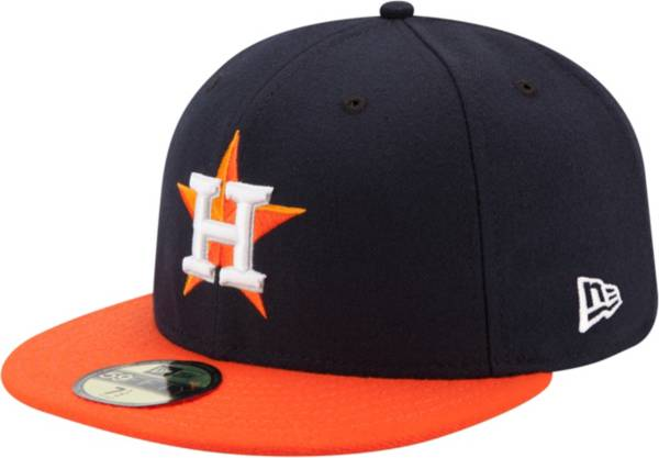 New Era Men's Houston Astros 59Fifty Road Navy Authentic Hat product image