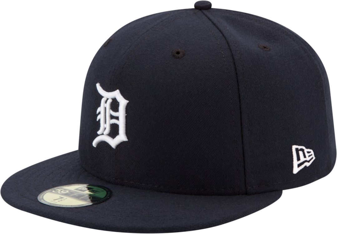 watch 61dc7 343e4 New Era Men s Detroit Tigers 59Fifty Home Navy Authentic Hat. noImageFound.  Previous