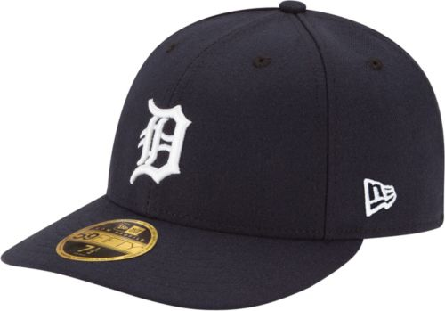 separation shoes 916be aace2 ... usa new era mens detroit tigers 59fifty home navy low crown authentic  hat. noimagefound.