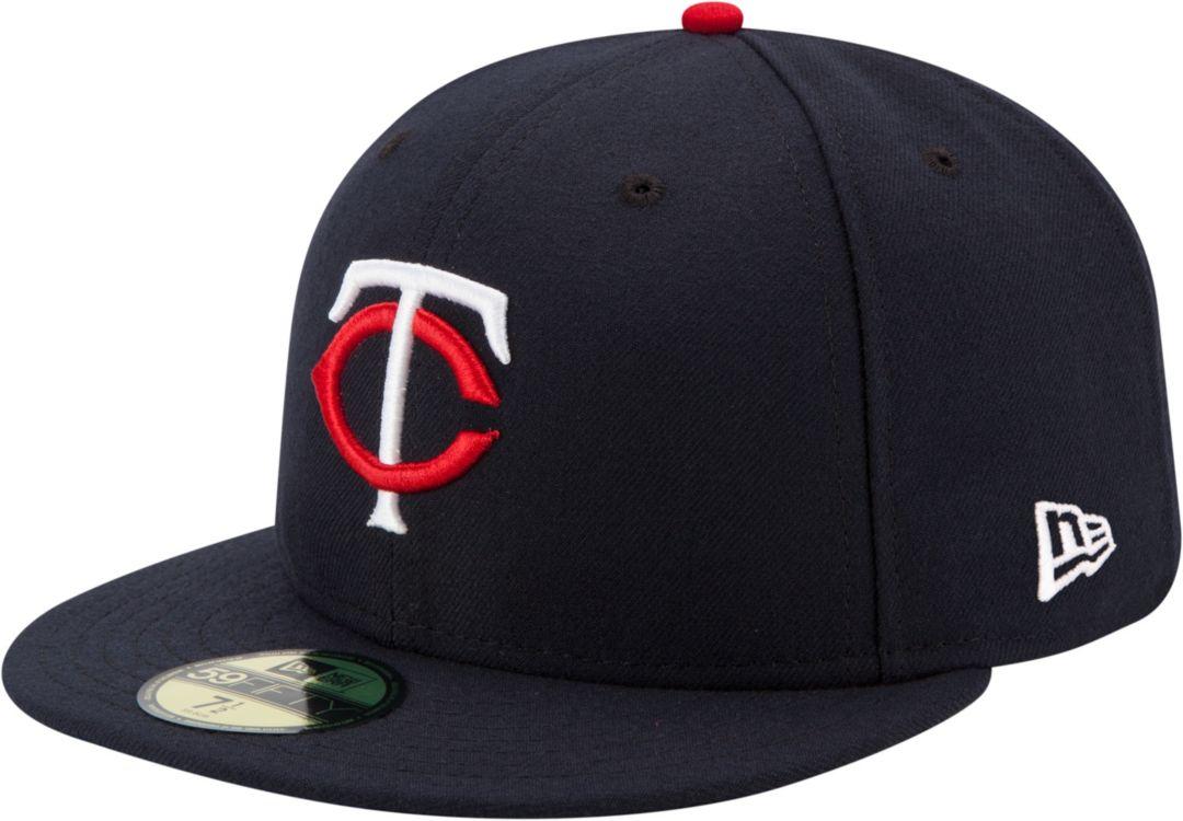 de00221f0026fc New Era Men's Minnesota Twins 59Fifty Home Navy Authentic Hat.  noImageFound. Previous