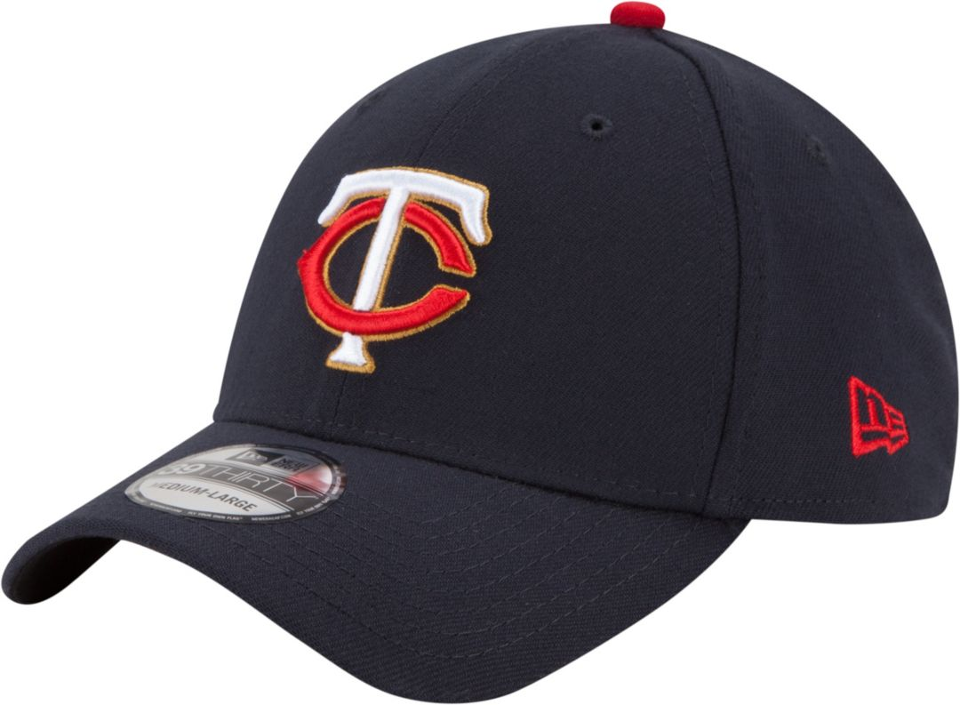 quality design 92b81 b297e New Era Men s Minnesota Twins 39Thirty Navy Stretch Fit Hat   DICK S  Sporting Goods