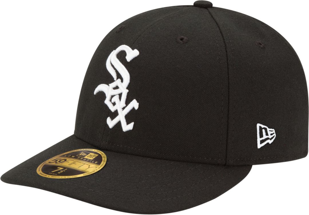 best cheap 633ac c7cf3 New Era Men s Chicago White Sox 59Fifty Game Black Low Crown Authentic Hat.  noImageFound. Previous
