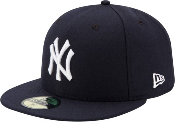 New Era Men's New York Yankees 59Fifty Game Navy Authentic Hat product image