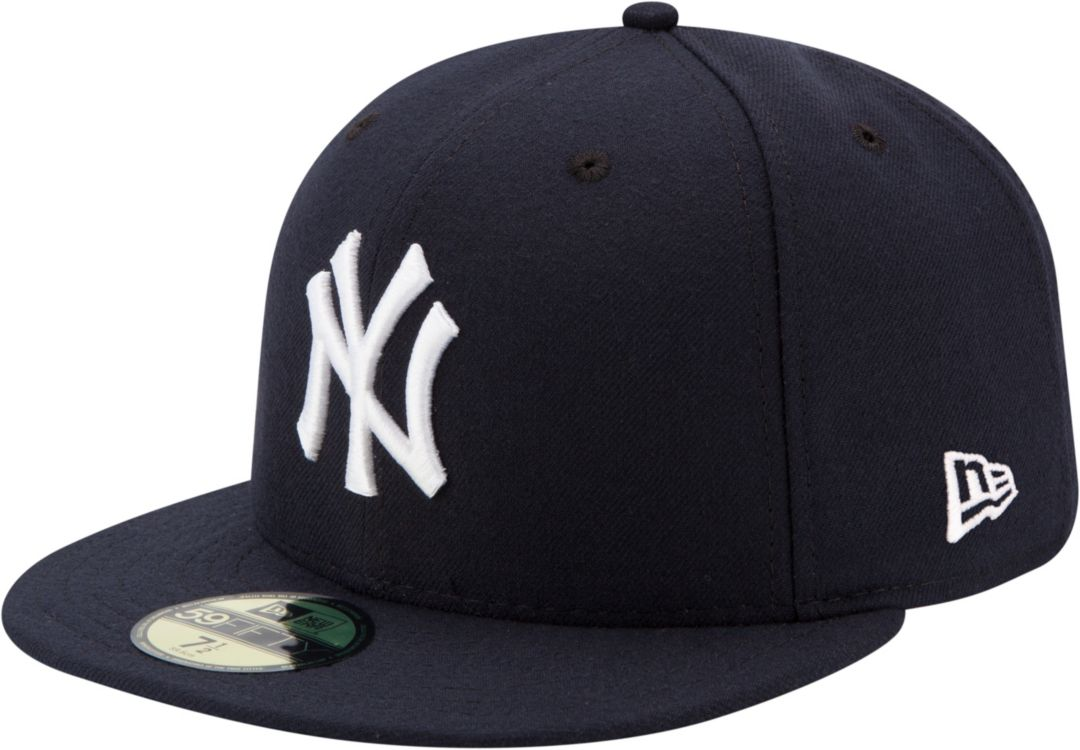 d74b10b0d280b New Era Men's New York Yankees 59Fifty Game Navy Authentic Hat ...
