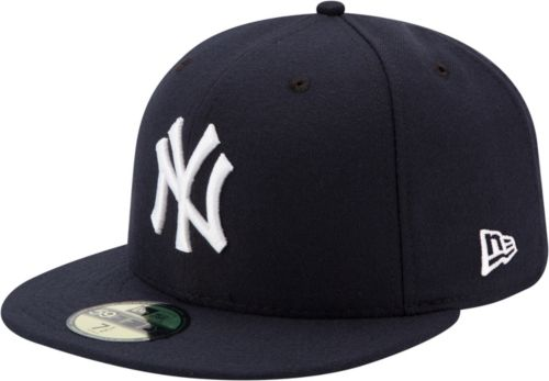 746a4b375c3 New Era Men s New York Yankees 59Fifty Game Navy Authentic Hat.  noImageFound. Previous
