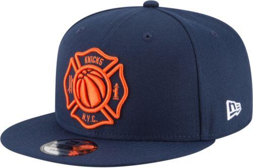 d6fc25b257a7d New Era Men s New York Knicks 9Fifty City Edition Adjustable Snapback Hat.  noImageFound. Previous