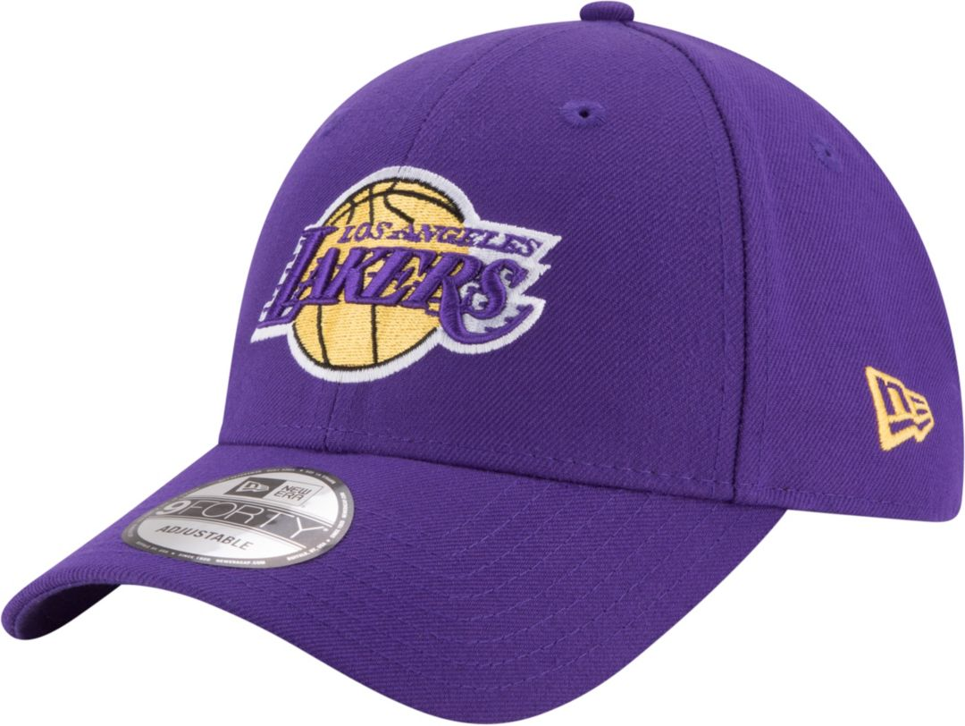 sports shoes 264c8 59c58 New Era Men s Los Angeles Lakers 9Forty Adjustable Hat. noImageFound.  Previous