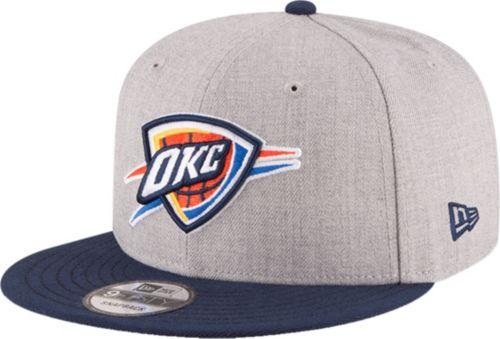 New Era Men s Oklahoma City Thunder 9Fifty Adjustable Snapback Hat ... 5d0b8fa1d5c4