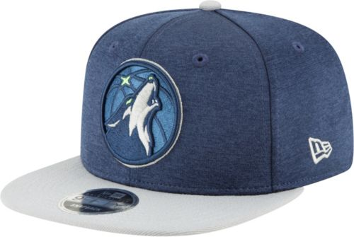 factory price 0468c 83e80 New Era Men s Minnesota Timberwolves 9Fifty Adjustable Snapback Hat.  noImageFound. Previous