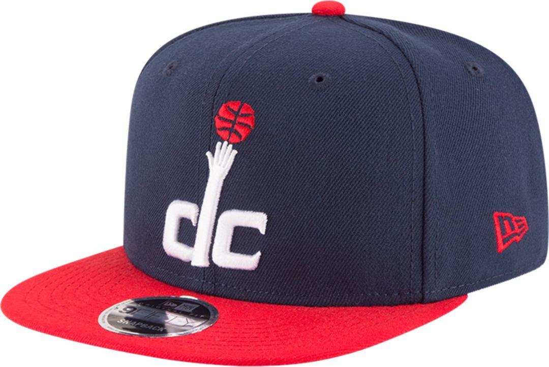 c67614fd5 New Era Men's Washington Wizards 9Fifty Adjustable Snapback Hat