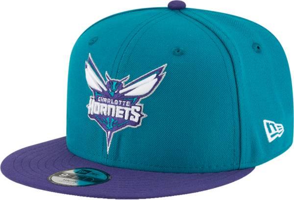 New Era Youth Charlotte Hornets 9Fifty Adjustable Snapback Hat product image