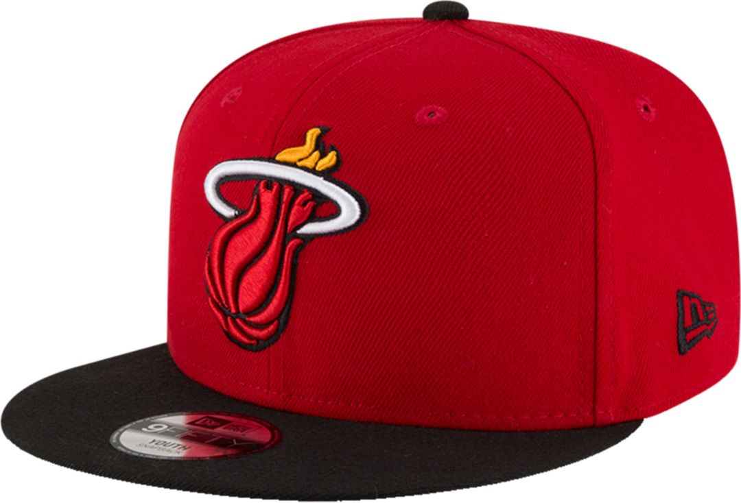 new arrival 0e4b7 31c38 New Era Youth Miami Heat 9Fifty Adjustable Snapback Hat. noImageFound.  Previous. 1. 2
