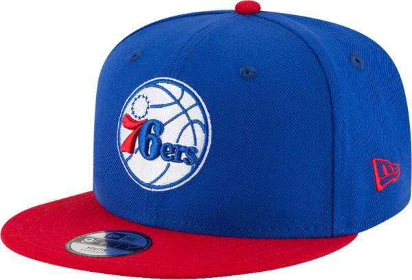 New Era Youth Philadelphia 76ers 9Fifty Adjustable Snapback Hat product image
