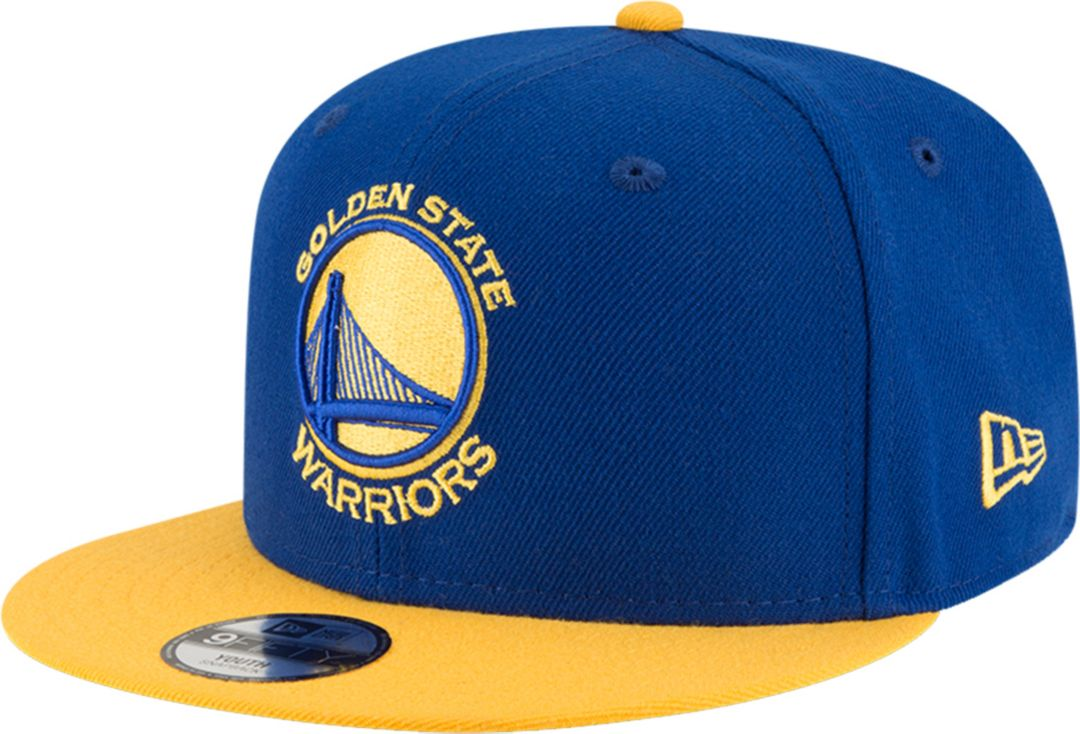 edee46204d5616 New Era Youth Golden State Warriors 9Fifty Adjustable Snapback Hat.  noImageFound. Previous