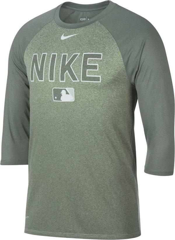 Nike Men's Legend Raglan ¾-Sleeve Baseball Shirt product image