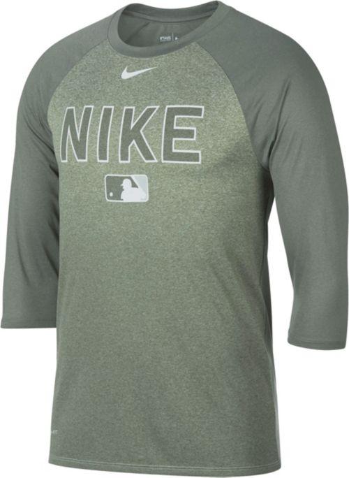 488ac98f Nike Men's Legend Raglan ¾-Sleeve Baseball Shirt | DICK'S Sporting Goods