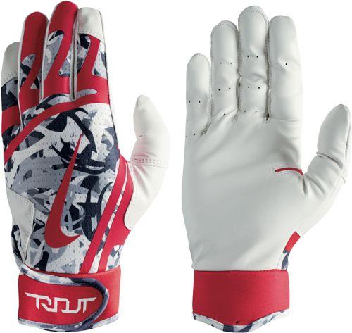 a46e6965da01f Nike Adult Trout Edge Camo Batting Gloves. noImageFound. 1