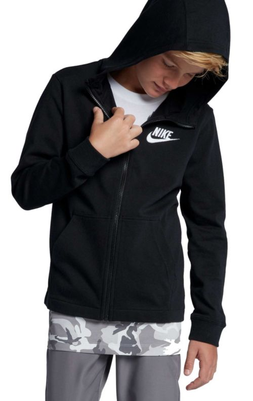 promo code e2b52 d0d20 Nike Boys  Sportswear Full-Zip Hoodie   DICK S Sporting Goods