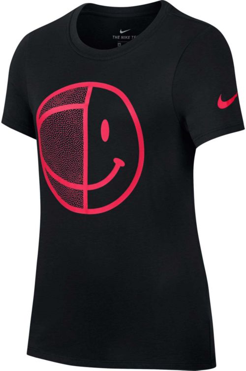 2a9fc2784 Nike Girls' Dry Smiley Ball Graphic T-Shirt. noImageFound. Previous