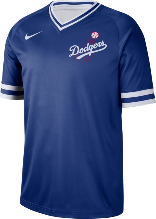 338dae5f770 Nike Men s Los Angeles Dodgers Cooperstown V-Neck Pullover Jersey.  noImageFound. Previous