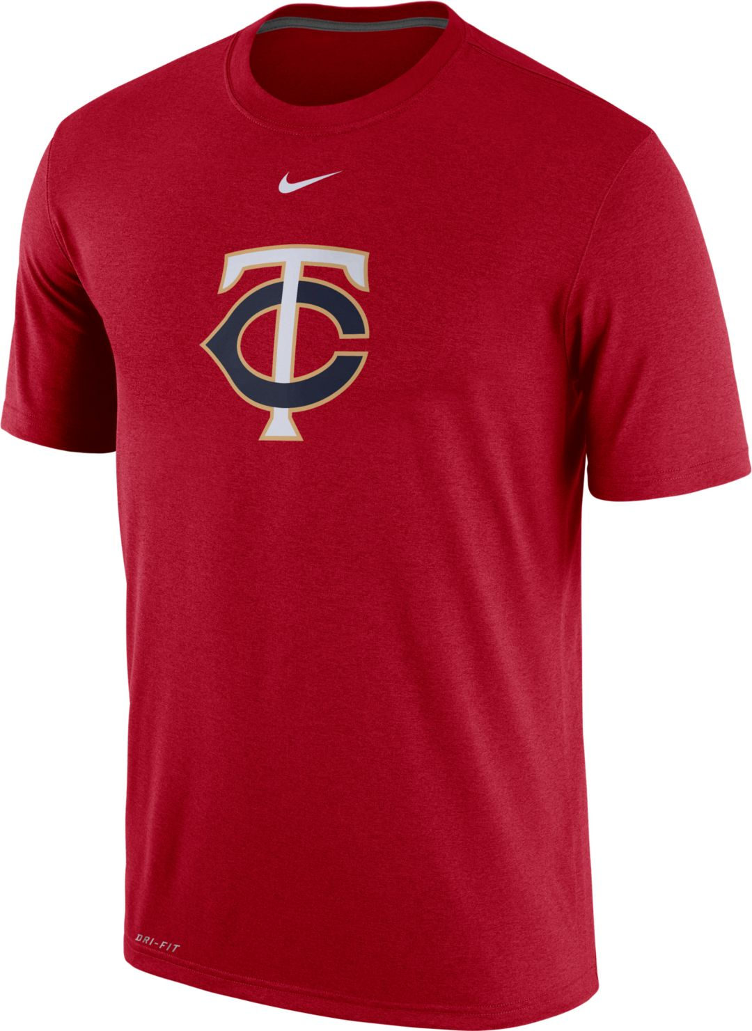 super popular 1cfc9 8a4f2 Nike Men s Minnesota Twins Dri-FIT Legend T-Shirt. noImageFound. Previous. 1.  2