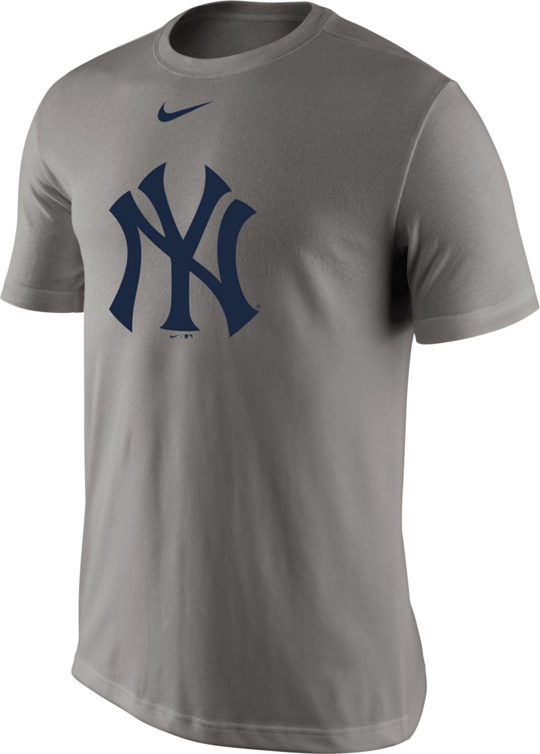 timeless design 0891b 2d399 Nike Men s New York Yankees Dri-FIT Grey Legend T-Shirt. noImageFound. 1