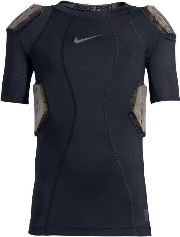 Nike Men's Pro Combat Hyperstrong 4-Pad Camo Football Shirt product image