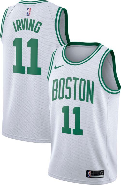 a4c8a968d1 Nike Men s Boston Celtics Kyrie Irving  11 White Dri-FIT Swingman Jersey.  noImageFound. Previous. 1. 2