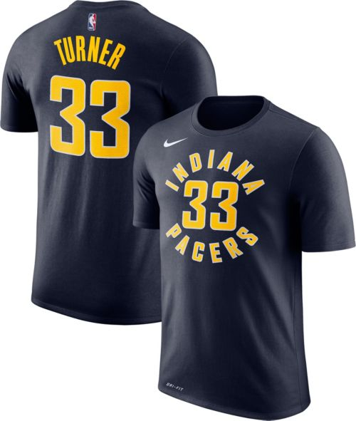 45be562d205 ... coupon for nike mens indiana pacers myles turner 33 dri fit navy t shirt  4acda 30a43