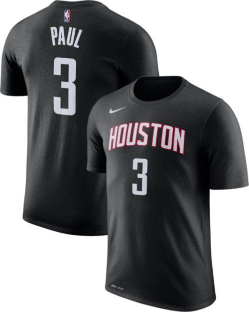 a2089d49074c Nike Men s Houston Rockets Chris Paul  3 Dri-FIT Black T-Shirt.  noImageFound. Previous