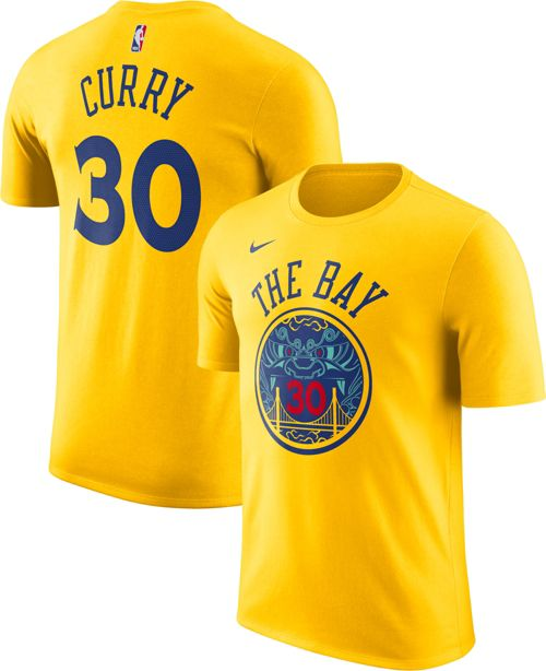 127568f86 Nike Men s Golden State Warriors Steph Curry Dri-FIT City Edition T-Shirt.  noImageFound. Previous