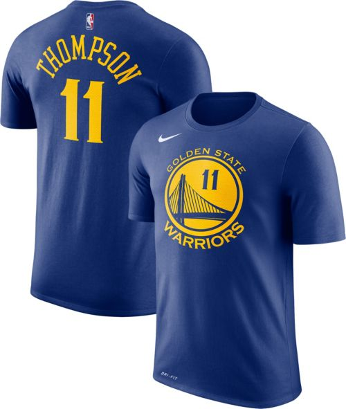 9a974cf2c838 Nike Men s Golden State Warriors Klay Thompson  11 Dri-FIT Royal T-Shirt.  noImageFound. Previous