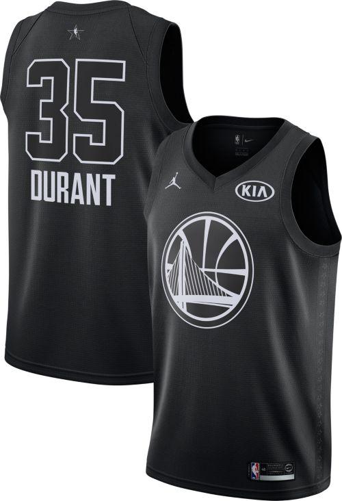 50b51088fc0 Jordan Men s 2018 NBA All-Star Game Kevin Durant Black Dri-FIT Swingman  Jersey. noImageFound. Previous