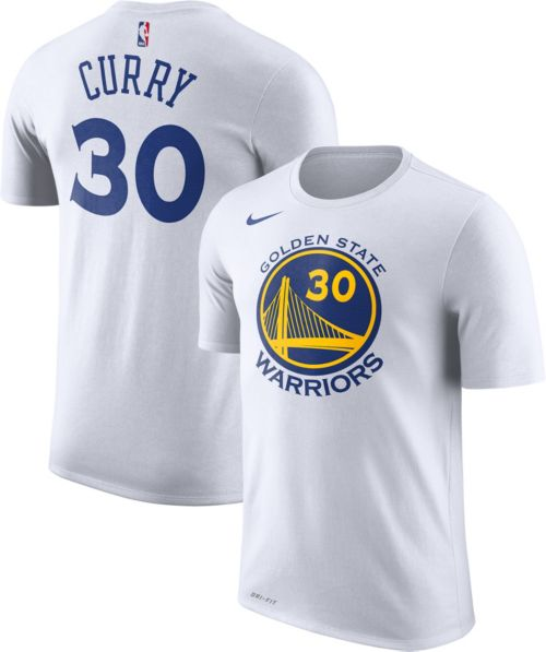 38fdcca4413b Nike Men s Golden State Warriors Stephen Curry  30 Dri-FIT White T-Shirt.  noImageFound. Previous