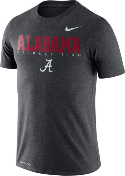 ac2563cc4 Nike Men's Alabama Crimson Tide Grey Football Dri-FIT Facility T-Shirt.  noImageFound. Previous