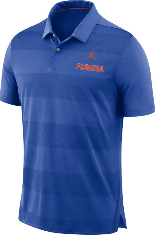 40248d18e7 Jordan Men s Florida Gators Blue Early Season Football Polo