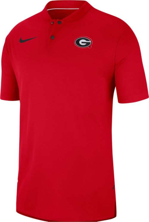 93fbae4f Nike Men's Georgia Bulldogs Georgia Elite Football Sideline Polo.  noImageFound. Previous