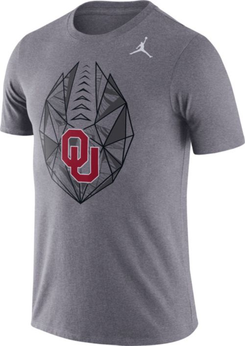 f8f84e50a7d06a Jordan Men s Oklahoma Sooners Grey Dri-FIT Football Icon T-Shirt.  noImageFound. Previous