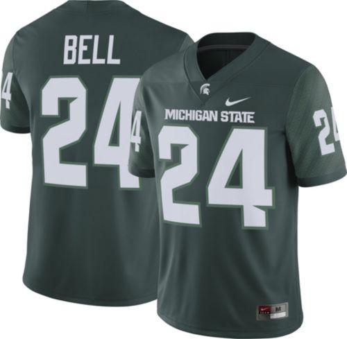 b86e6c67b8a Nike Men s Le Veon Bell Michigan State Spartans  24 Green Replica College  Alumni Jersey. noImageFound. Previous. 1