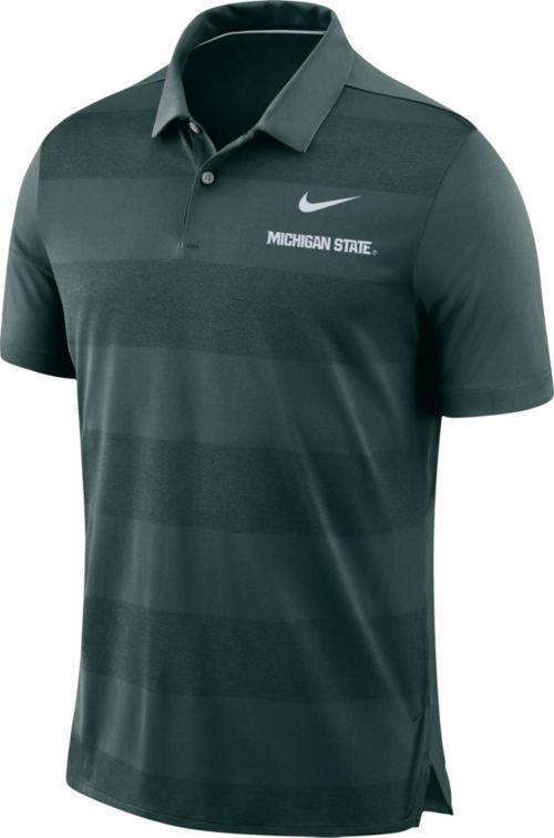 63d25cca Nike Men's Michigan State Spartans Green Early Season Football Polo.  noImageFound. Previous