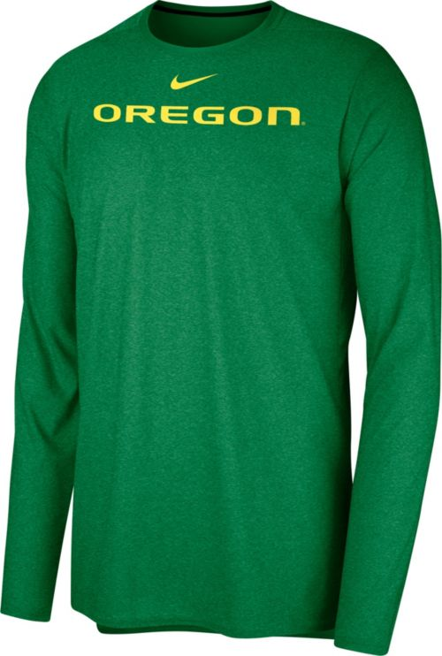 2d0e12edfc99 Nike Men s Oregon Ducks Green Football Dri-FIT Player Long Sleeve T-Shirt.  noImageFound. Previous