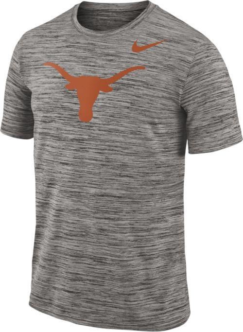 436f369e1c0d Nike Men s Texas Longhorns Charcoal Football Dri-FIT Travel T-Shirt.  noImageFound. Previous